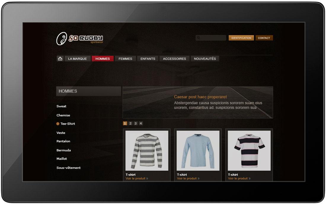 création de site web, de design d'interface et de boutique en ligne à rennes