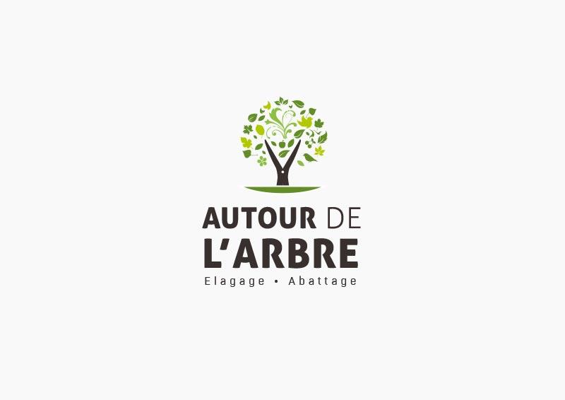 Création de logo à Rennes, Autour de l'arbre