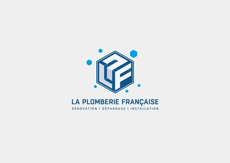 Création de logo à Rennes, La plomberie Française